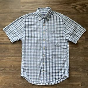Vineyard Vines Short Sleeve Button Down Shirt